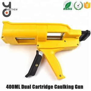 400ML Power Saving Manual dual cartridge caulking gun