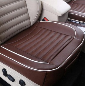 50x50cm PU Leather Car Cushion Seat Chair Cover / Auto Interior Pad Mat / leather car seat cover