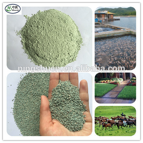 Air Decontamination Natural Zeolite for Golf Course , Sports Field Construction , Fungicide and Maintenance