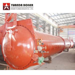 Autoclaved aerated concrete machine for brick plant