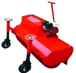 Automatic Sand Rubber Filling And Brushing Machine For Artificial Grass Installation