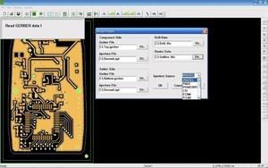 Automatic tool change PCB sample board making machine
