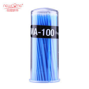 Best quality brush applicator colorful microbrush for eyelashes extensions