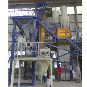 Cheap Batching Mixing Conveyor Packaging Machine Used For Dry Mortar Mortar Equipment Processing System