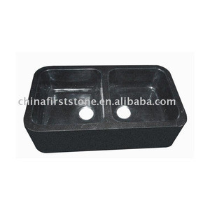 China High Quality Hot Sale 810x560mm Granite Kitchen Sink 0100G