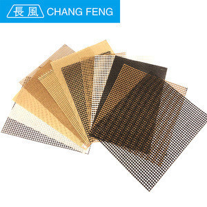 China high temperature resistant ptfe coated alkali resistant fiberglass mesh for production line