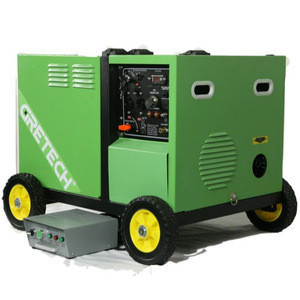 China professional manufacturer Gretech 5kw silent small biogas engine generator with good price