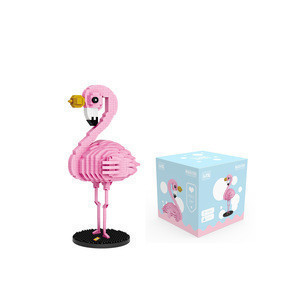 Christmas Gift Mini Collections Model Toys Gifts Anime Flamingo  Action Figure