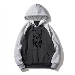 Custom Printed Own Brand Hoody For Boy Oversize Long Sleeves Fleece Cotton Hoodies Sweatshirts