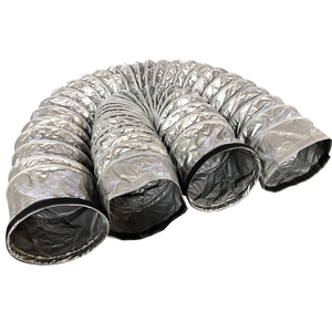 Energy-saving and environmentally friendly thermal insulation PVC  flexible air duct for easy cleaning