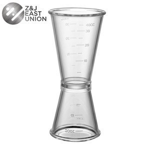 Factory Direct 20/40ml Plastic Cocktail Double Jigger For Bar