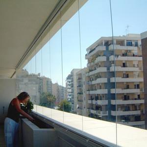 Frameless Glass curtain full open window&door System