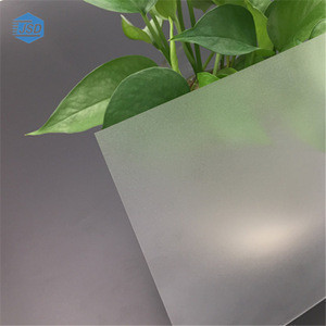 Frosted Polycarbonate sheet for bath screen to separate polycarbonate panels