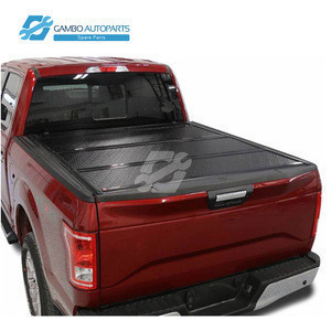 Hard Folding 4X4 pick up truck bed fullbox Tonneau Cover for Pickup trucks