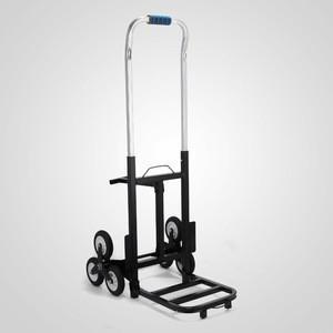 Heavy duty metal hand truck 6 wheel tool cart with trailer