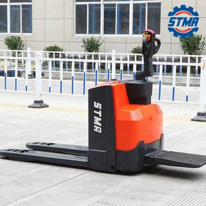 High quality 1.5 ton - 2 ton pallet jack truck with 24v/210Ah battery