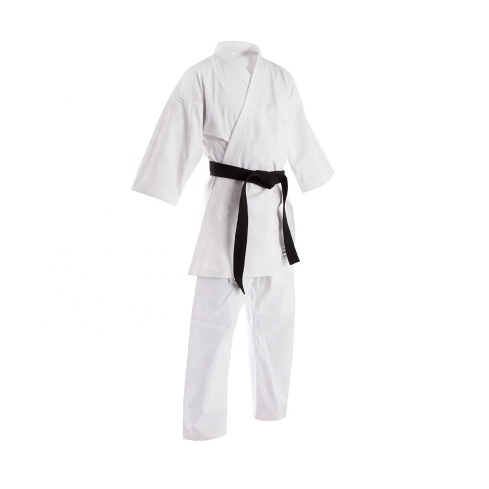 High Quality Martial arts uniform wear karate gi suits customized with belt