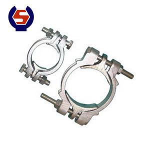 High Quality Types Of Double Bolt Hose Clamp