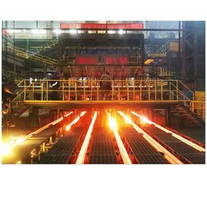 Hot R4m / R5.25m CCM steel bar casting rebar rolling mill production line