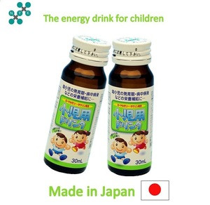 Kids energy drink, supporting children's growth, made in Japan