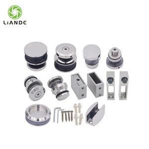 Manufacturer stainless steel glass sliding door hardware accessories