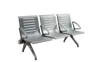 Modern Design High Quality 3 seat  aluminium alloy  waiting room chair