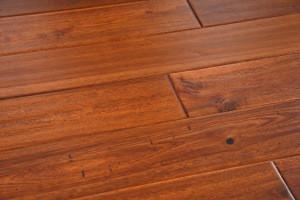 Modern Hardwood Floor Leaf Acacia  wood flooring solid 18mm  Indoor Usage