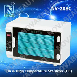 NV-208C Professional 2 In 1 UV & High Temperature Sterilizer For Salon CE