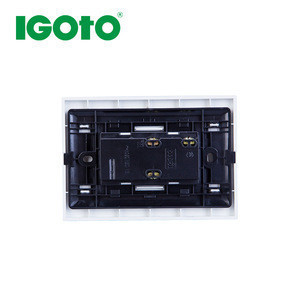 PC material 15A 125V 120*80mm American Twin Receptacle for latin american market