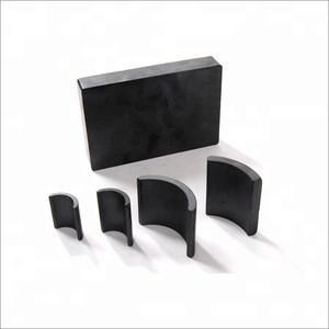 Powerful large speaker block ferrite magnet