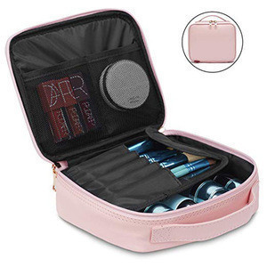 Private Label Rose Gold Travel Cosmetics Makeup Case
