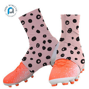 Pure pink cleat covers/american football cleats/soccer cleat