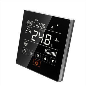 Weekly programmable room remote air conditioning HVAC systems thermostat