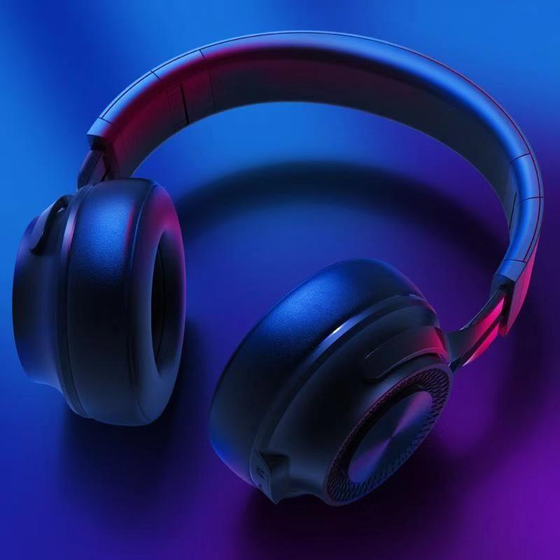 Active Noise Cancelling Wireless earphone headband over ear Bluetooth