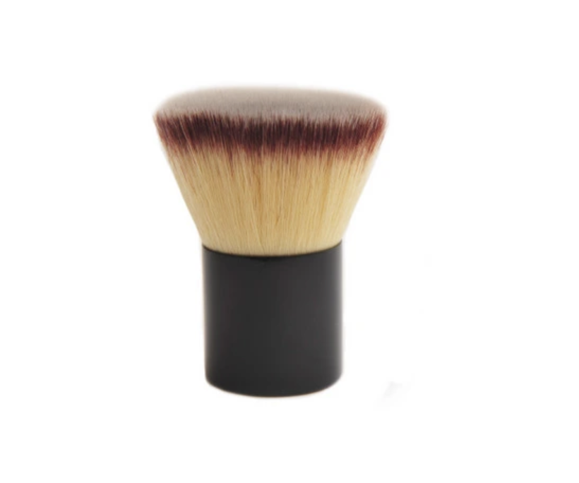 Flat Makeup Kabuki Brush with Synthetic Hair