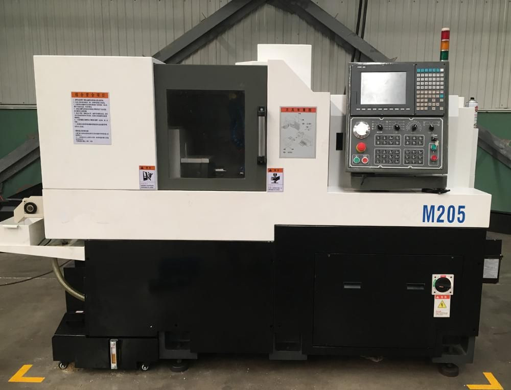 M205-1 China CE Certificate High Rigidity 5 Axis 20mm Twin Spindle CNC Bar Automatic Swiss Type Lathes