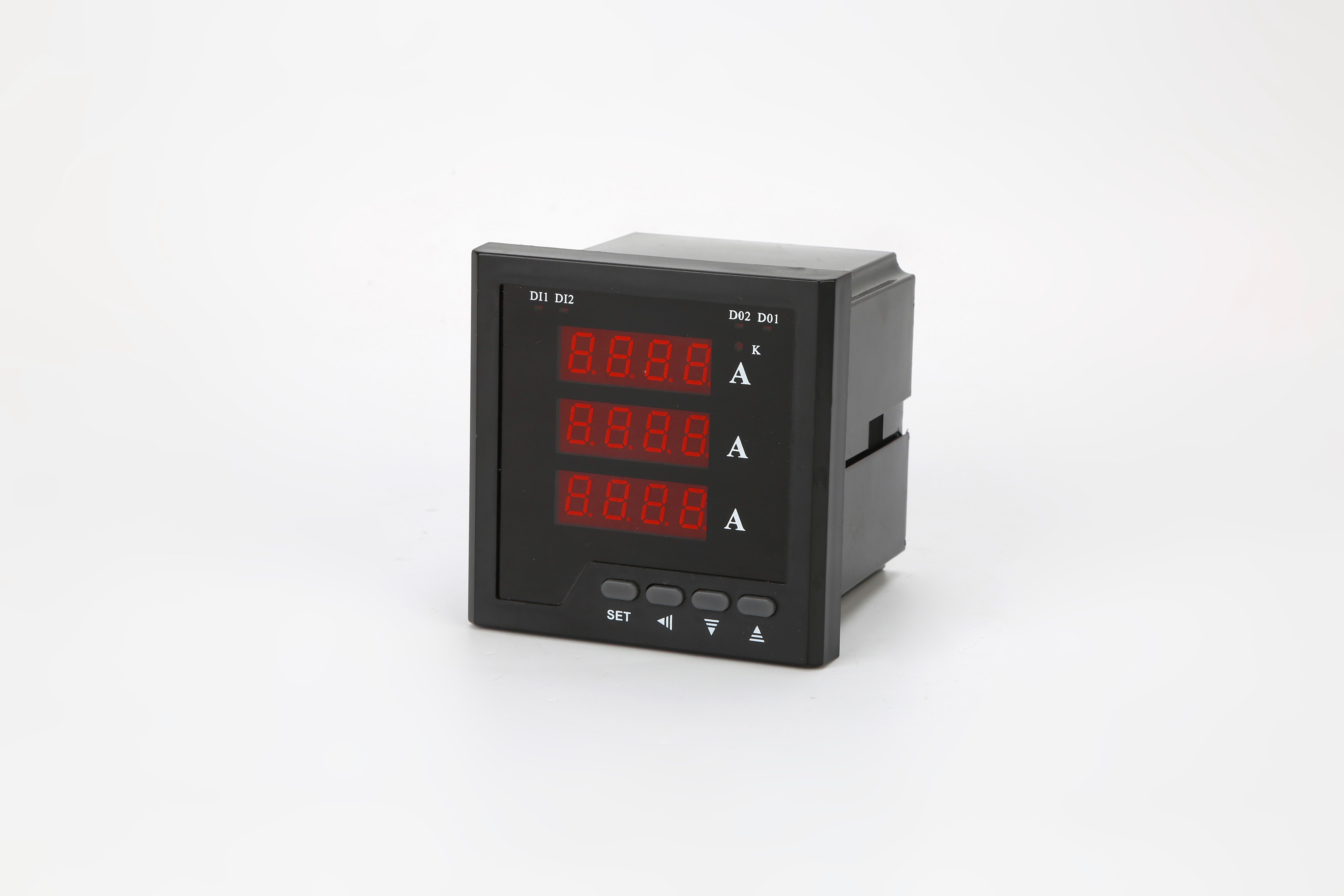 BEVAV A+quality Panel AC Digital ammeter, single-Phase and three-phase AC Electric Current Meter, amp meter