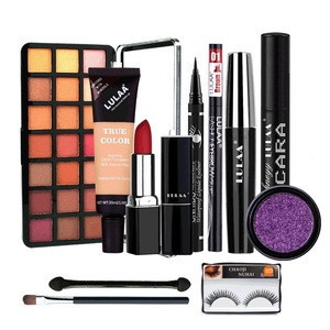 10PCS Makeup Set Complete Easy to Carry High Quality Safe Makeup Suit