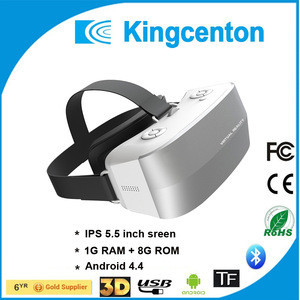 2016 best google video 3d VR all-in-one box ps4 vr headset 1080P japan movie 3d free video download vr glasses