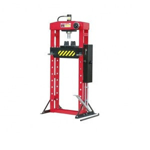 20T Vehicle Equipment Hydraulic Shop Press with foot pump