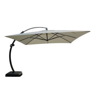 3.5m Garden Patio  Used Deluxe Bend parasols  With Luxury Base