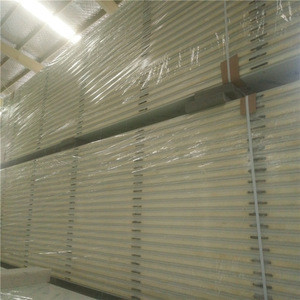 75mm Roof and Wall Polyurethane Panel Sandwich For Cold Room