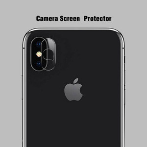 9H Nano Glass Camera Screen Protective Film For Iphone X Camera