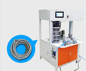 Automatic Braided Stainless Steel Flexible Hose winding tying machine for Water-Inlet Hose SA-CROL