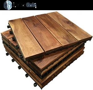 Best quality wood floor for balcony/garden from Vietnam High durable hardwood flooring outdoor interlocking wood deck tiles