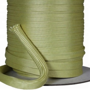 Braided cable protection sleeve for heat insulation protection cable aramid sleeving