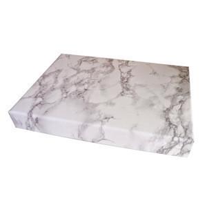 Cardboard Printing Marble Pattern Flower Gift Packaging Box