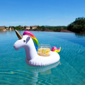 CH19008 Hot sale Inflatable Pool Drink Holders, Selection from Unicorn, Flamingo, Palm and More