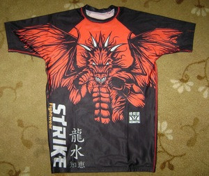 Custom MMA Rash Guard/Sublimation Rash Guard For Men,Customized MMA rash guard