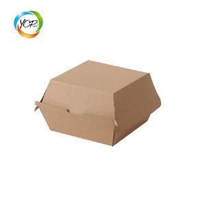 Custom Paper hamburger box /burger packaging carton/custom Mcdonalds sizes burger box